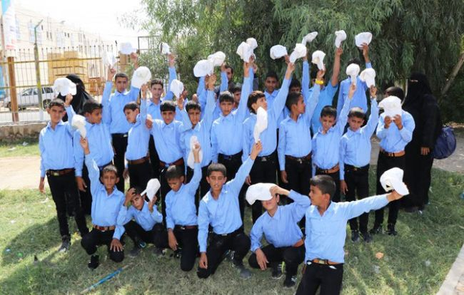 Saudi relief agency organizes trip for former child soldiers in Yemen